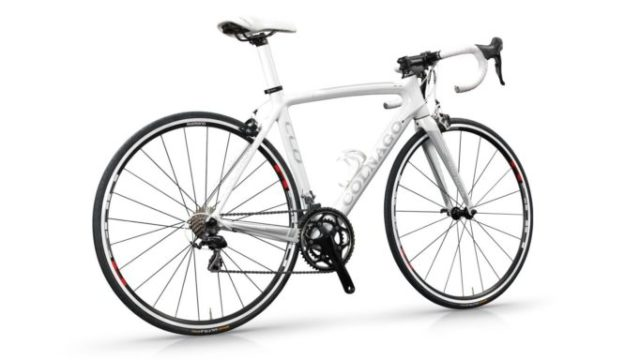 """The Colnago CLD's geometry has been """"tailored for women"""". Although the Wiggle High5 pro team ride the C60"""