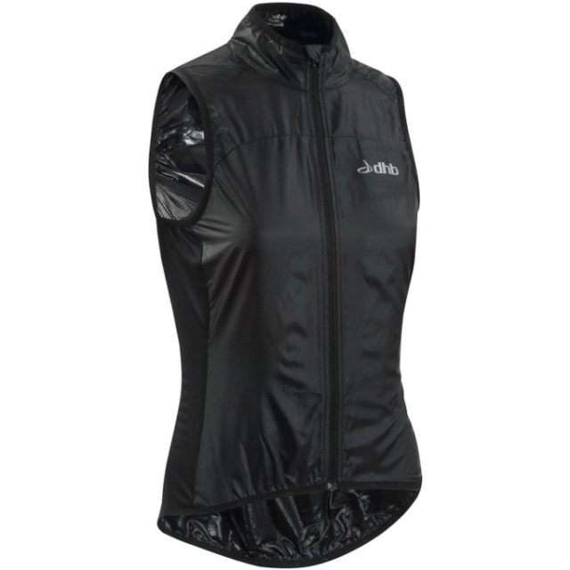 Supremely lightweight and packable, the dhb gilet