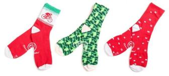 Match your socks to the seasons!