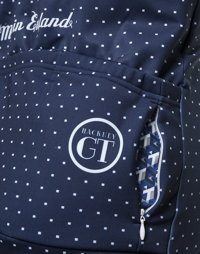 A zipped security pocket and some nice details make for a good looking jacket