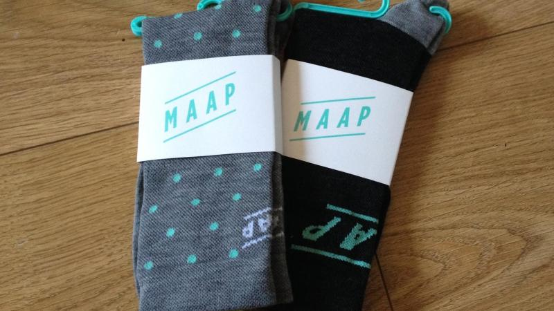 MAAP Dot and Type Merino Socks Preview