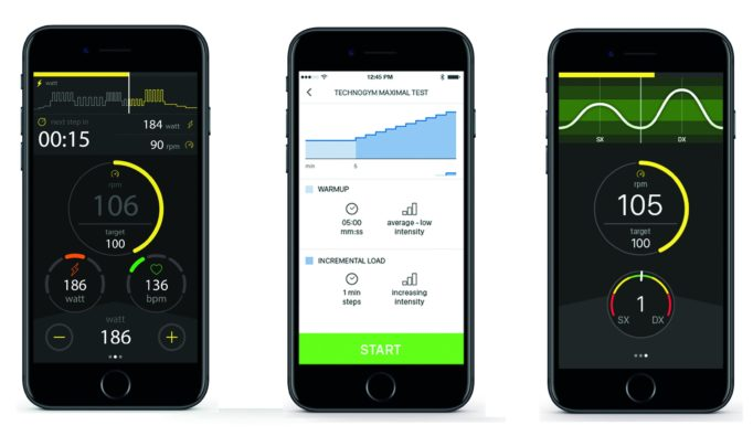 The MYCYCLING app will allow you to control the trainer and monitor you training