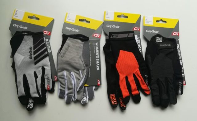 We have four of pairs of GripGrab Gloves to try out