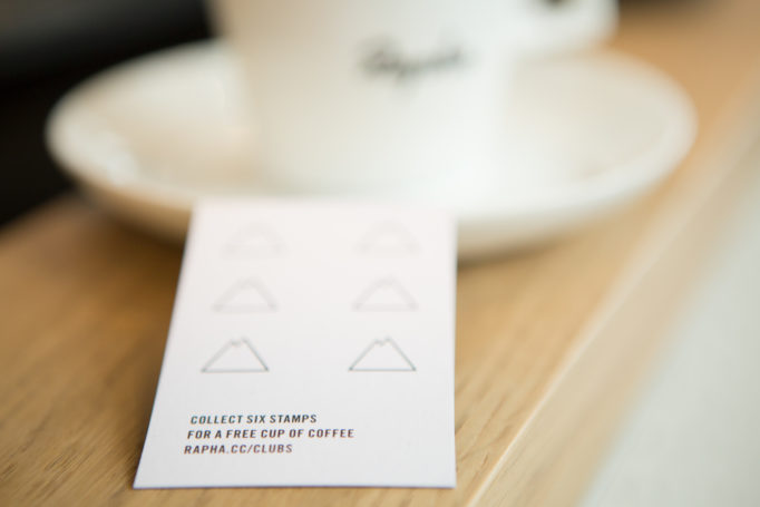 The Rapha Clubhouse will also make you a damn fine cup of coffee!