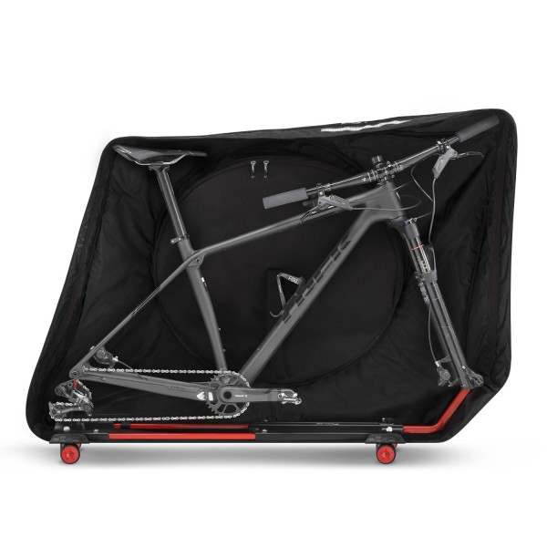 The AeroComfort is designed around an MTBs larger dimensions