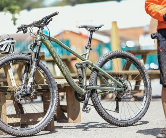 Canyon Neuron AL 7.9 29er with added mud