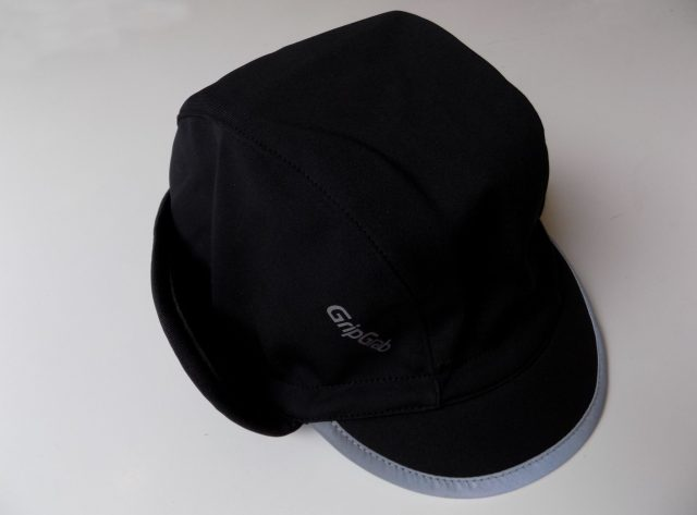 Traditional looking winter cycling cap