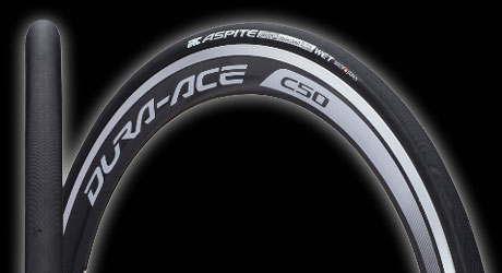 IRC Aspite Pro Wet tyre with RBCC