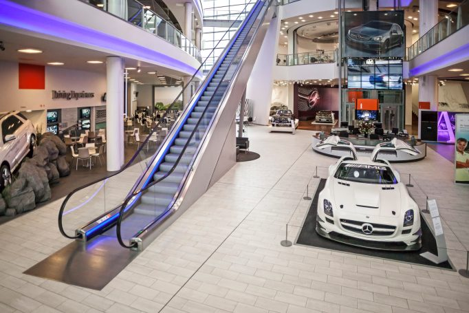 The day will be held at Mercedes-Benz World at Brooklands in Surrey