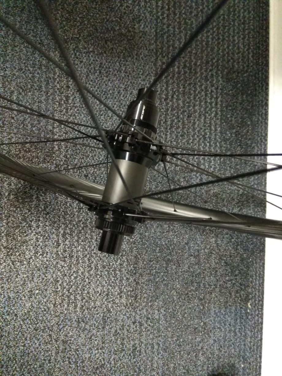 Scope O2 Wheelset rear