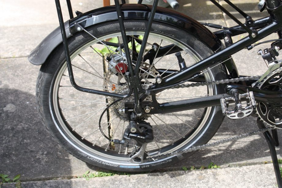Circe Helios back wheel