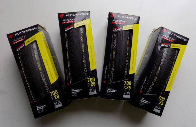 I'll be reviewing two of the Hutchinson Fusion 5 tubeless tyres range