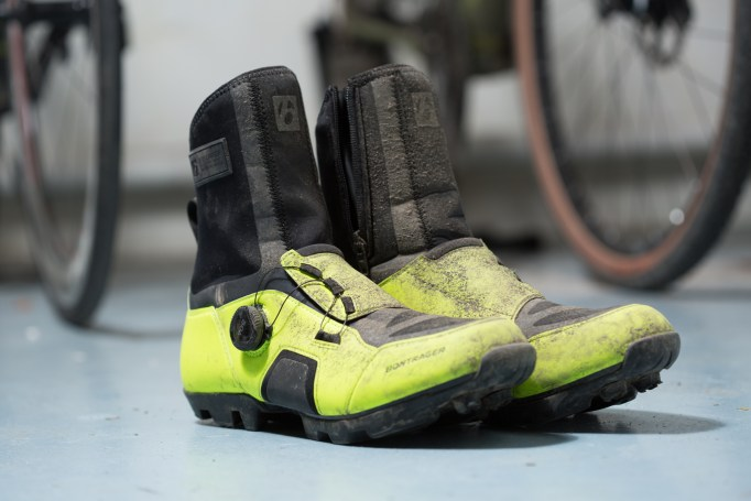 The Bontrager JFW Winter Cycling shoe