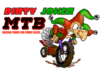 The Dirty Joker MTB ride is hoping to raise £10,000 for Comic Releif