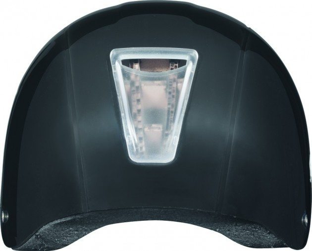 ABUS Ecolution helmet cardboard inspection window