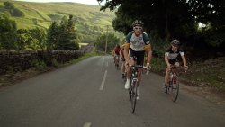 Road riding in Swaledale