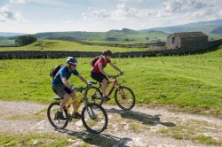Heading up Ribblesdale