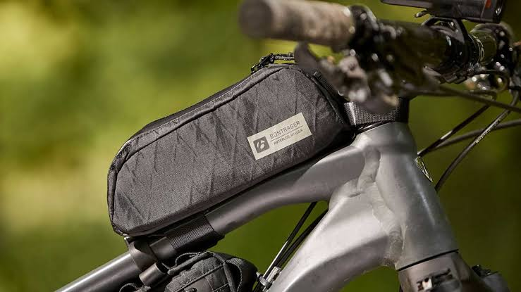 NEW QUALITY COMPACT WATERPROOF PADDED BIKE HANDLEBAR BAG ROSWHEEL BLACK GREY UK