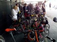 It was great seeing so many folding bikes in one place.