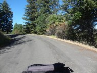 Getting closer to the top of White Bird Pass