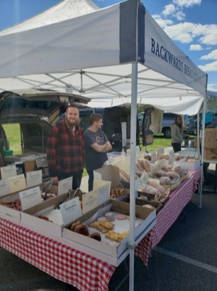 This is part of the farmer's market I found. Yum!