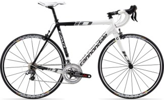 2013 Cannondale CAAD10 black&white