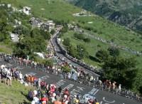 Spectators on Alpe d'Huez, Tour de France 2008