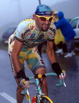 Marco Pantani on Col du Galibier