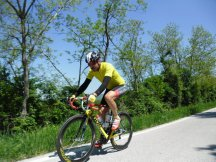 Cycling Tour in Italy, 2nd day, Muzaffer