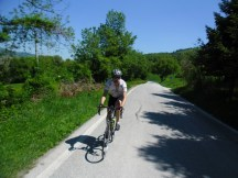 Cycling Tour in Italy, 2nd day, empty roads