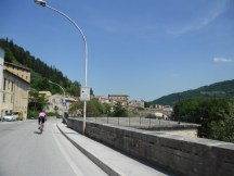 Cycling Tour in Italy, 3rd day, a small town