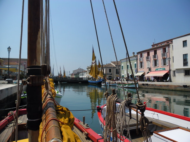 Cycling Tour in Italy, 4th day, Canale di Cesenatico