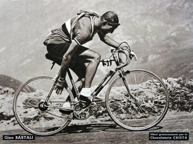 Gino Bartali's Tour de France 1948 winner bike
