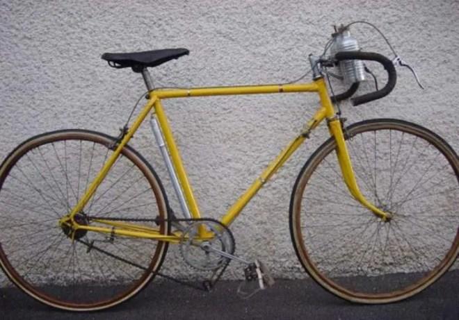 Roger Lapébie's (Mercier-Hutchinson) Tour de France 1937 winner bike
