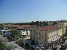 Hotel Baltic, Riccione - view from the balcony