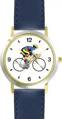 Cycling theme watch