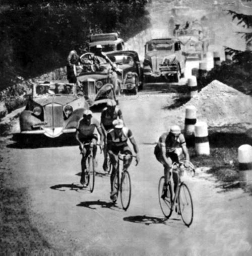 Coppi, Ortelli, Bartali - 1946 Giro