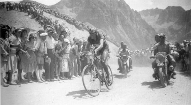 Fausto Coppi, 1949 Tour de France, stage 12 Col du Tourmalet