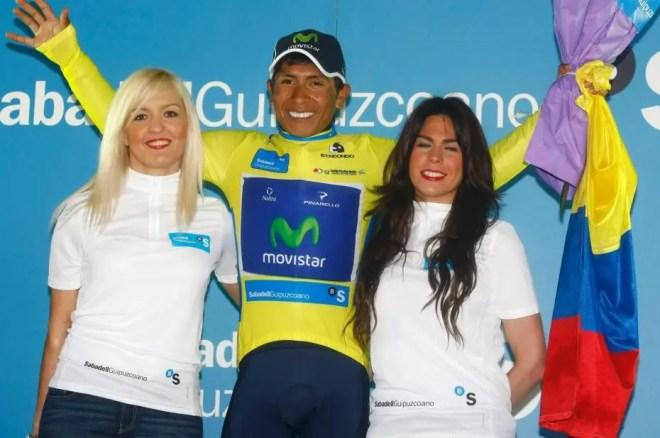 Nairo Quintana wins Vuelta al Pais Vasco 2013