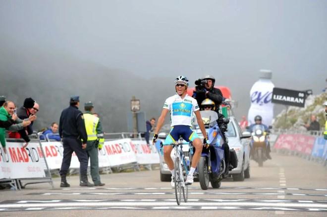 Alberto Contador wins atop Angliru, 2008 Vuelta a España