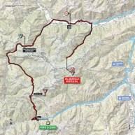 Giro d'Italia 2014 stage 16 map (new)