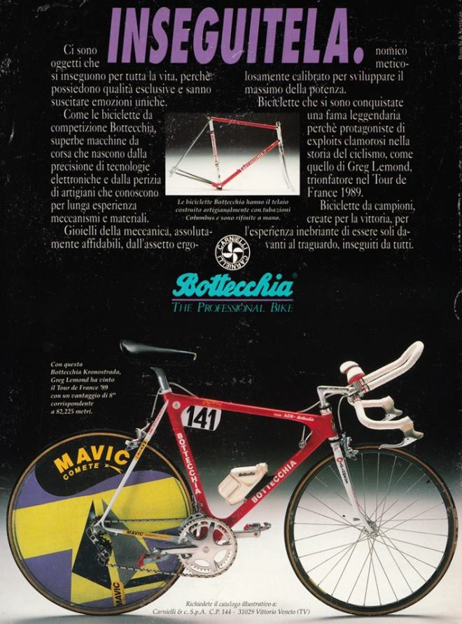 Greg LeMond's Tour de France 1989 winner Bottecchia