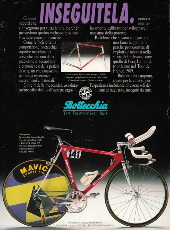 Greg LeMond's Tour-de-France 1989 winner Bottecchia