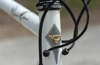 Casati Campagnolo 80th Anniversary Limited Edition bike - head tube