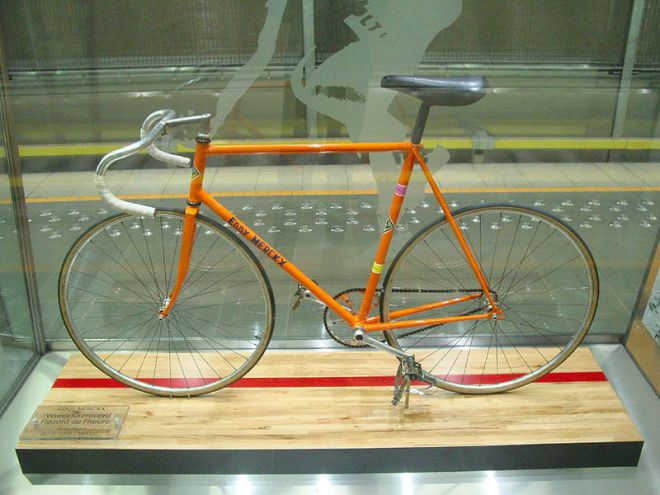 Eddy Merckx's 1972 Hour Record bike