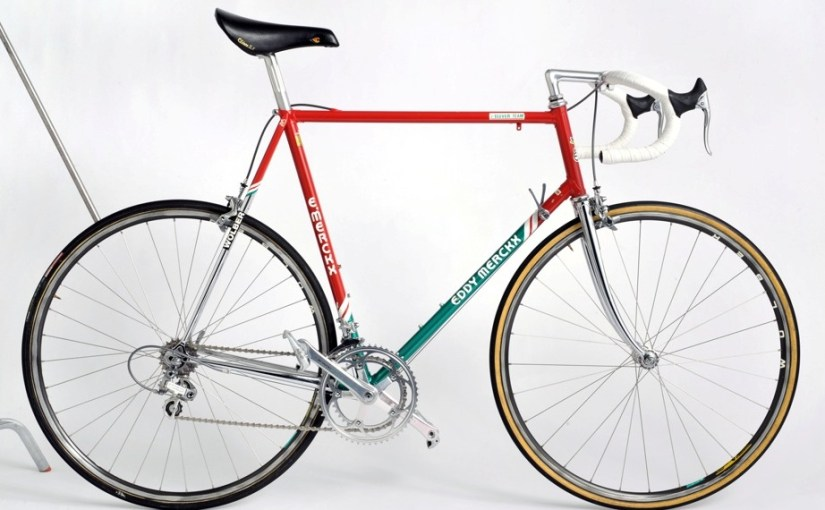7-Eleven's Eddy Merckx bikes