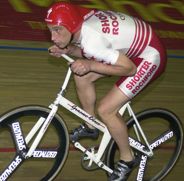 Graeme Obree, Hour Record