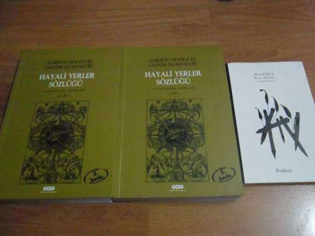 The Dictionary of Imaginary Places, Turkish editions