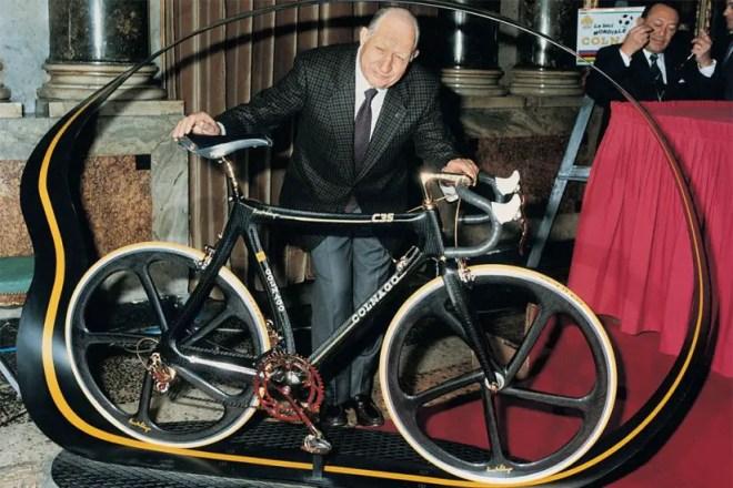 Colnago C35 equipped with Campagnolo Super Record Gold - Gino Bartali