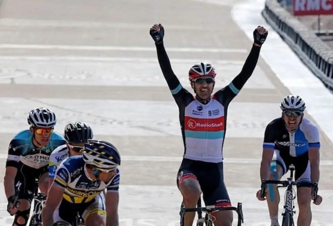 Fabian Cancellara wins Paris-Roubaix 2013